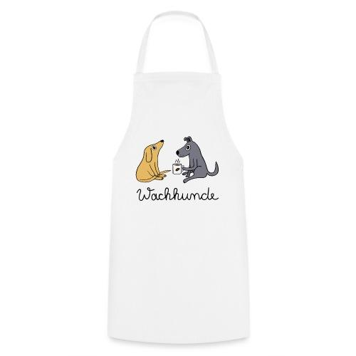 Wachhunde - Nur wach mit Kaffee - Kochschürze
