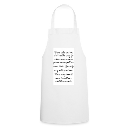 Tablier femme - Tablier de cuisine