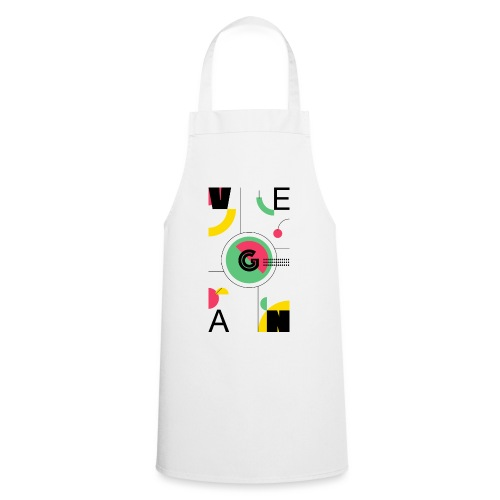 Abstract Vegan - Cooking Apron