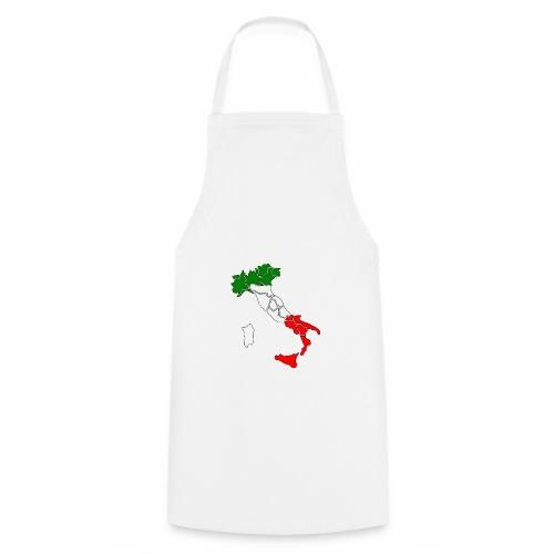 Karte von Italien - Kochschürze
