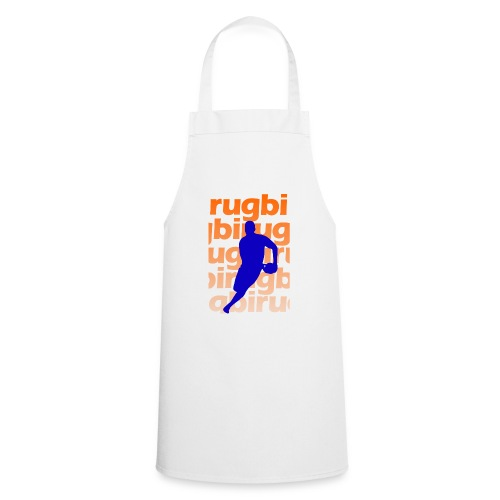 Silueta rugbi home - Delantal de cocina