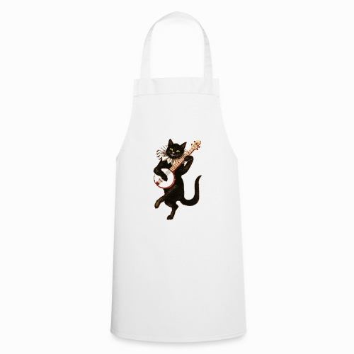 vintage cat - Cooking Apron
