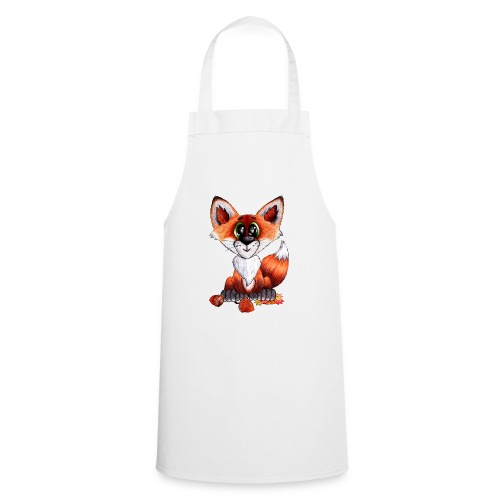 llwynogyn - a little red fox - Cooking Apron