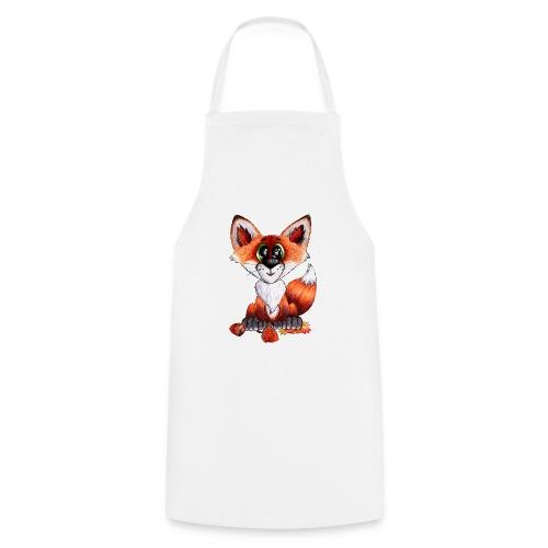 llwynogyn - a little red fox - Forklæde