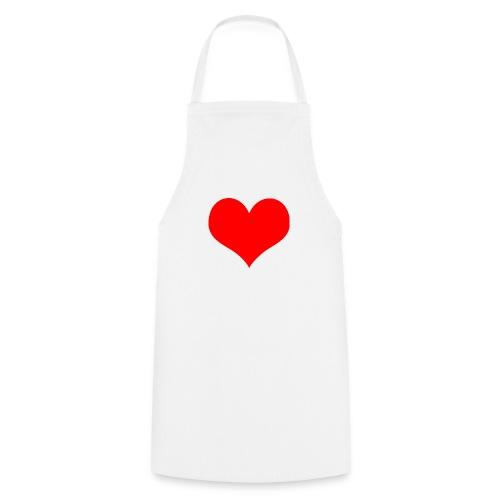 rotes Herz - Kochschürze