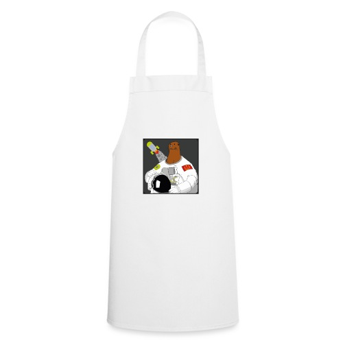 Otter space otter - Cooking Apron