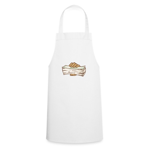 BANDZ All White Everything Tee - Cooking Apron