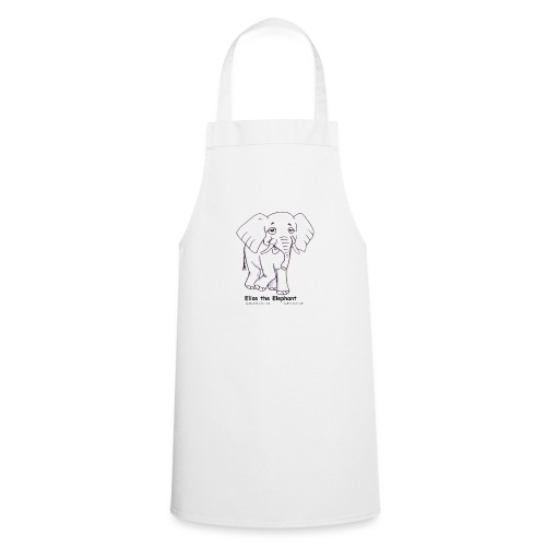 Elise the Elephant Named - Cooking Apron