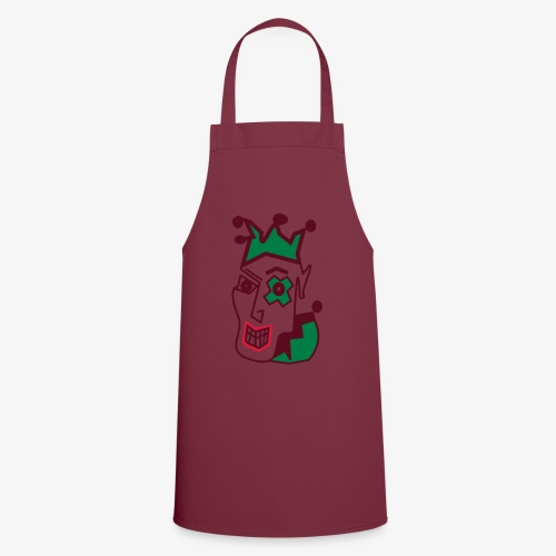 Crazy Jester by Brian Benson Men's Women's Premium - Cooking Apron