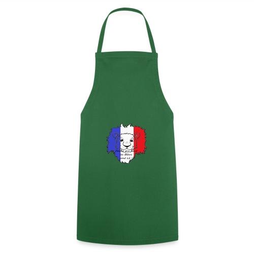 Lion supporter France - Tablier de cuisine