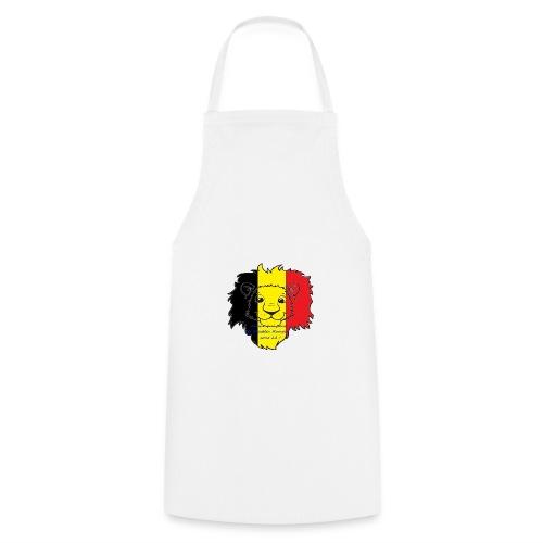 Lion supporter Belgique - Tablier de cuisine