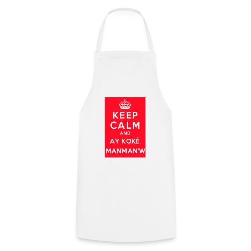 keepcalm MANMANW - Tablier de cuisine