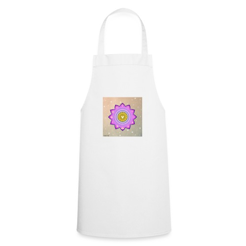 0 1 Dove Surrounded by Religious Symbols. - Cooking Apron