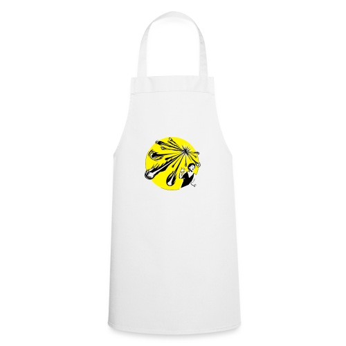 Yellow Meteor Shower Scream - Cooking Apron