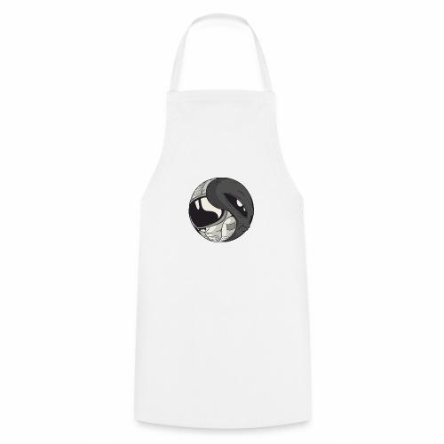 Yin Yang space Alien und Astronaut - Kochschürze