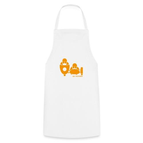 BASSET LOGO orange - Tablier de cuisine
