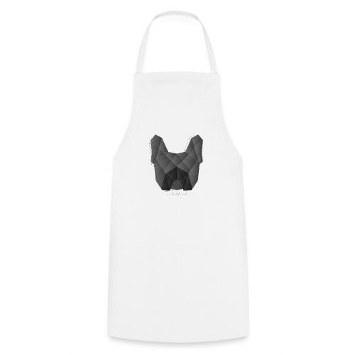 Geometric Frenchie black - Französische Bulldogge - Kochschürze