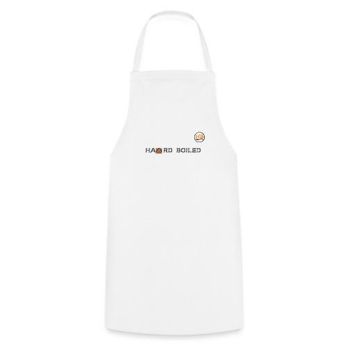 Schrift mit orangenem a - Kochschürze