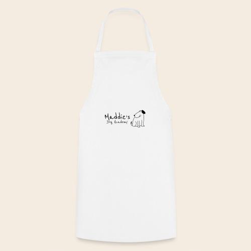 Académie des chiens de Maddie (noir) - Tablier de cuisine