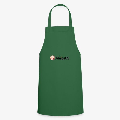 PoweredByAmigaOS Black - Cooking Apron