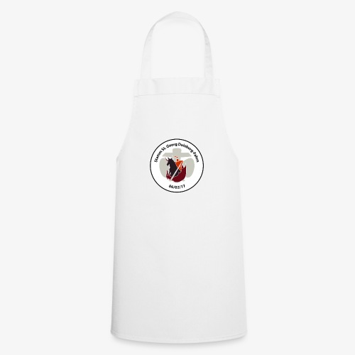 Logo mit Schriftzug - Kochschürze