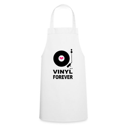 Vinyl Forever T-shirt - Cooking Apron