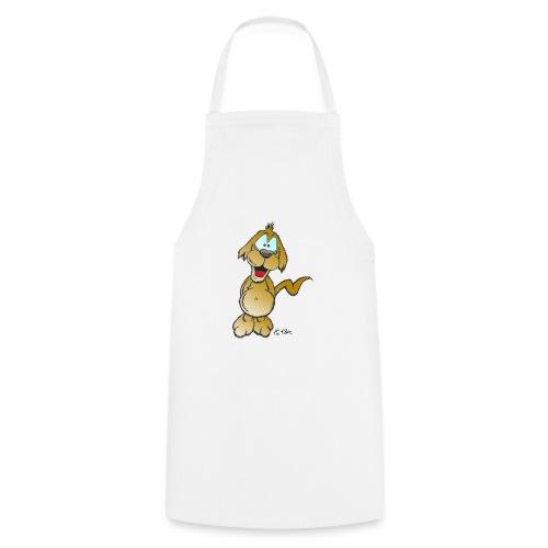 Glücklicher Hund - Kochschürze