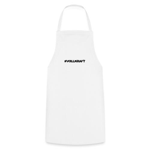 Schriftzug Vollkraft - Kochschürze