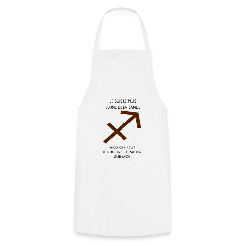 Sagittaire - je suis le plus jeune de la bande mai - Tablier de cuisine