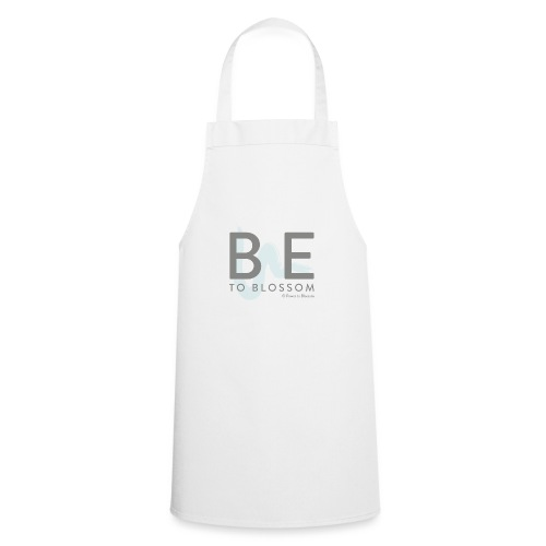 Be to blossom with swoosh (gray) -Power to Blossom - Cooking Apron