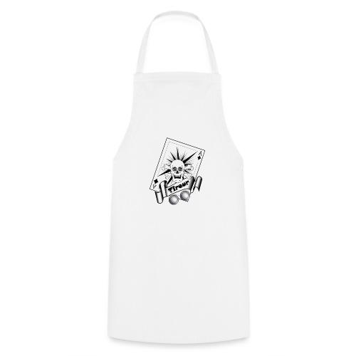 t shirt petanque tireur crane rieur carreau boules - Tablier de cuisine