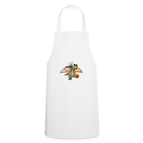 Dino Rex Playing Basketball T-Shirt - Cooking Apron