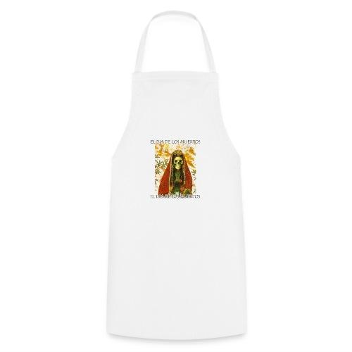 El Dia De Los Muertos Skeleton Design - Cooking Apron
