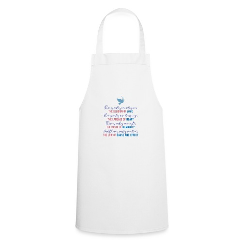 The Religion of Love - Cooking Apron