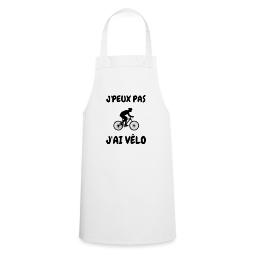JPEUX pas Jai velo - Tablier de cuisine
