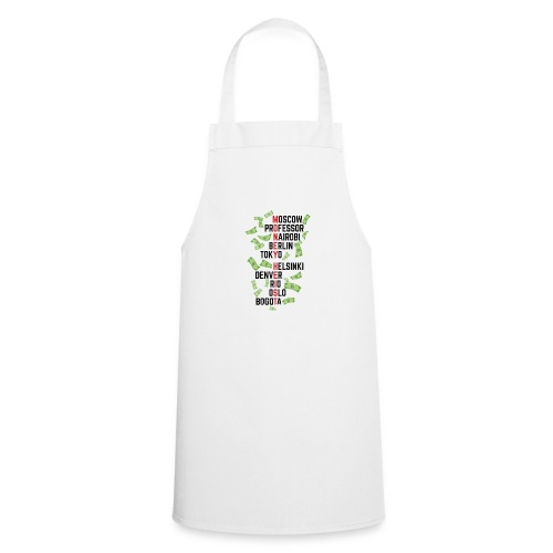 Money Heist Funny Acronim Design - Delantal de cocina