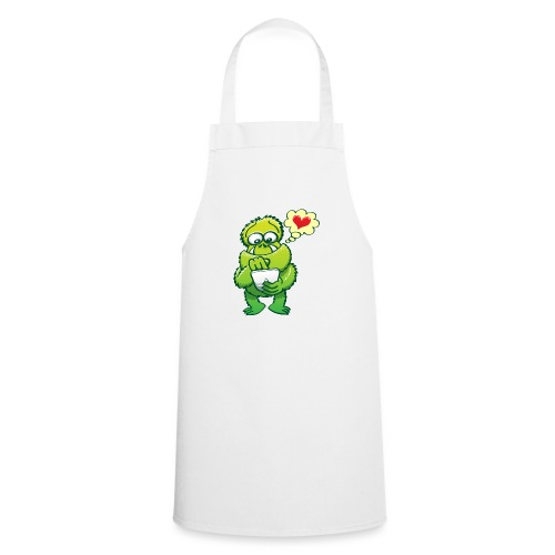 Ugly monster seeking love on the Internet - Cooking Apron