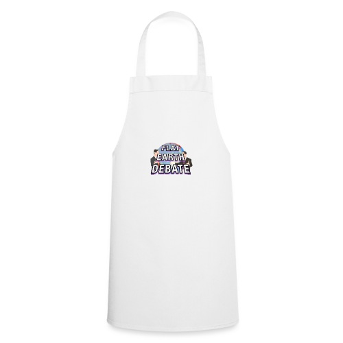 Flat Earth Debate Solid - Cooking Apron