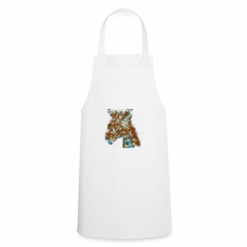dragon head - Cooking Apron