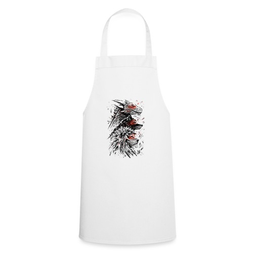 Dragon Wolf Lion - Cooking Apron