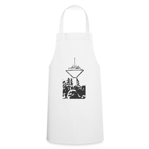 Wasserturm Rottweil schwarz - Kochschürze