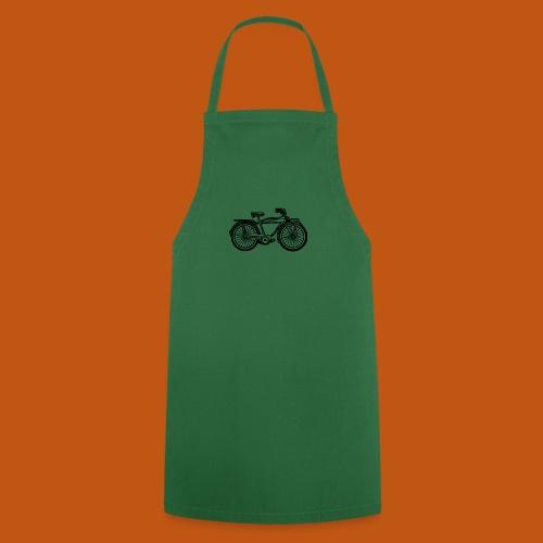 Beach Cruiser Fahrrad 01_schwarz - Kochschürze