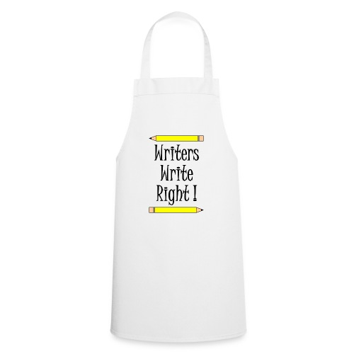 Writers Write Right - Cooking Apron