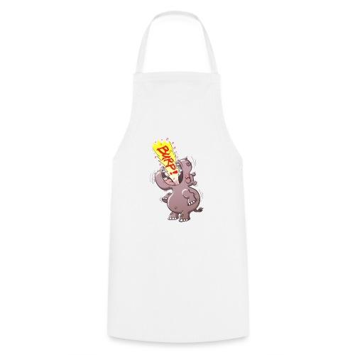 Hippopotamus Burping Loudly - Cooking Apron