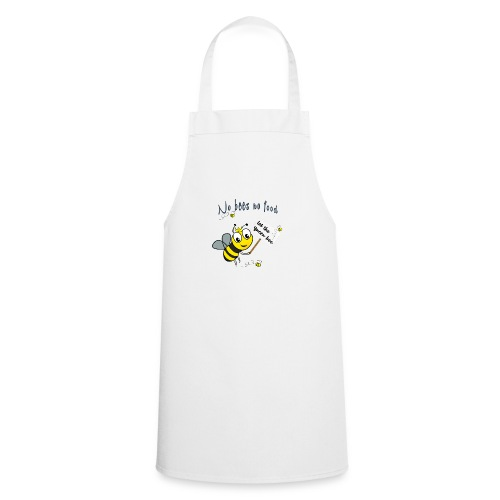 Save the bees with this cute design! Red de bij - Keukenschort