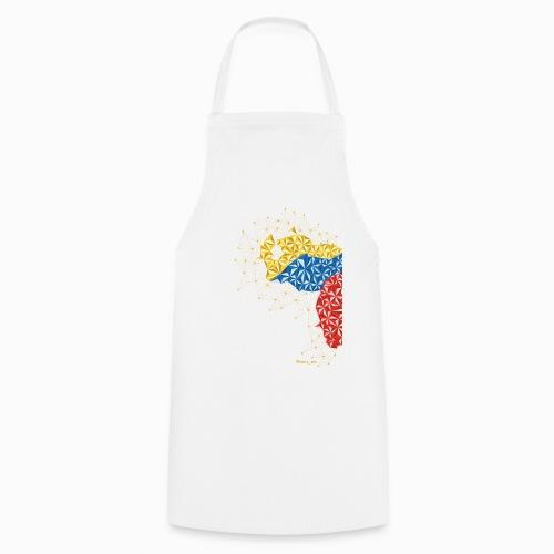 Venezuela en el Pecho - Delantal de cocina