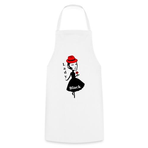 Lady Black/Rot - Kochschürze