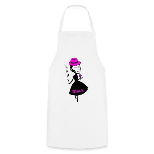 Lady Black Pink - Kochschürze