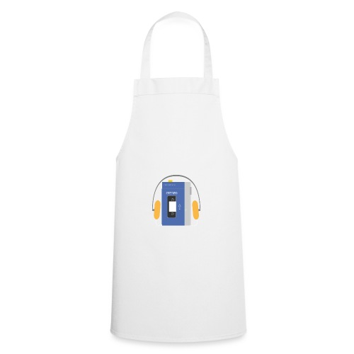 Stereo walkman in blue - Cooking Apron