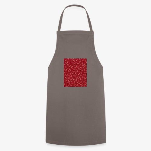 Motif dragon sur fond rouge - Tablier de cuisine